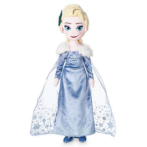 Elsa Plush Doll - Olaf's Frozen Adventure - Medium - 19''
