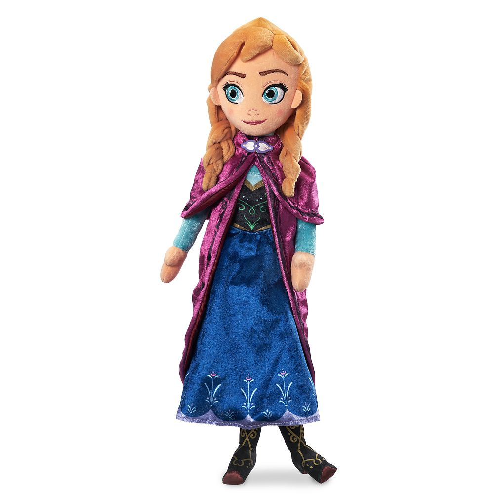 Anna Plush Doll  Frozen  Medium Official shopDisney