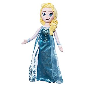 Elsa Plush Doll - Frozen - Medium