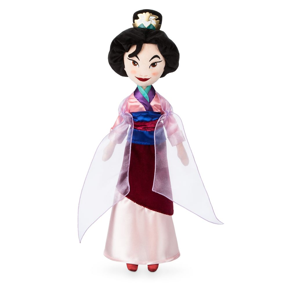 Mulan Plush Doll – Medium