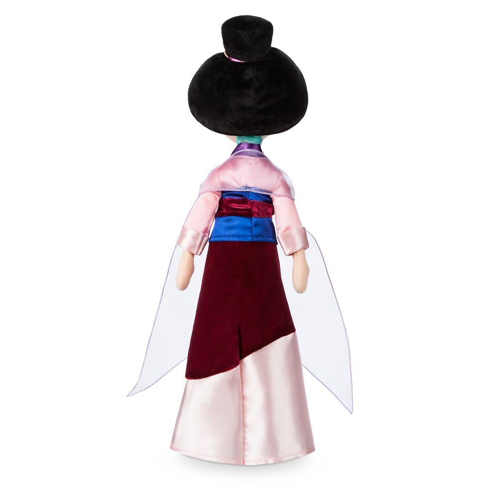 Mulan Plush Doll – Medium