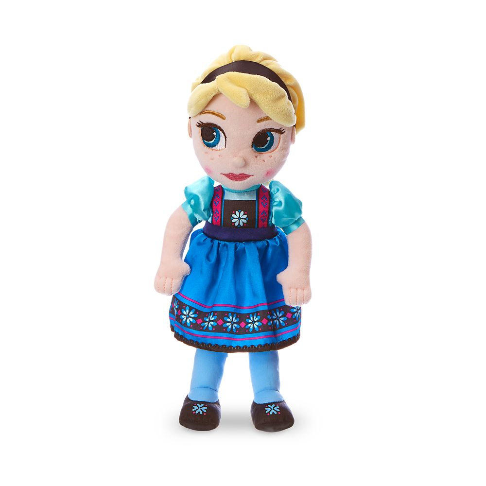 Disney Animators' Collection Elsa Plush Doll – Frozen – Small