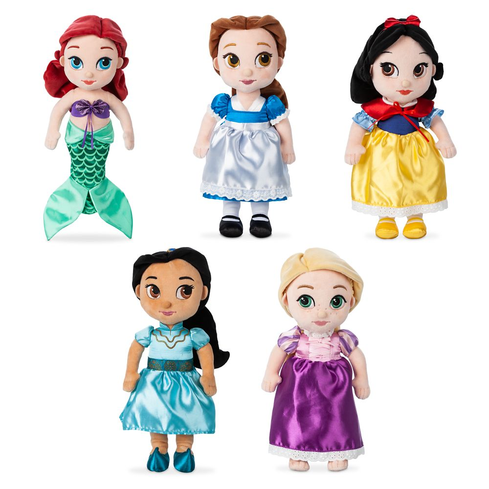 Disney Animators' Collection Plush Doll Gift Set – Small – 12''