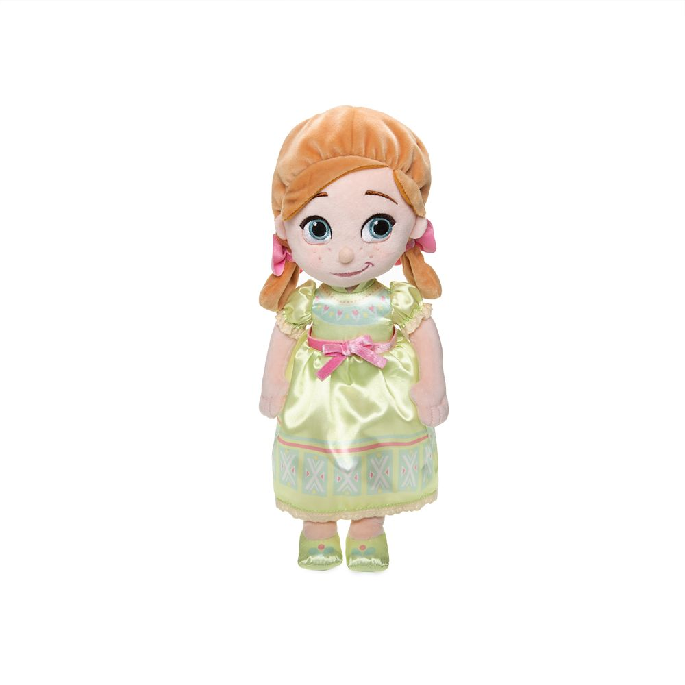 Disney Animators' Collection Anna Plush Doll – Small – 12''