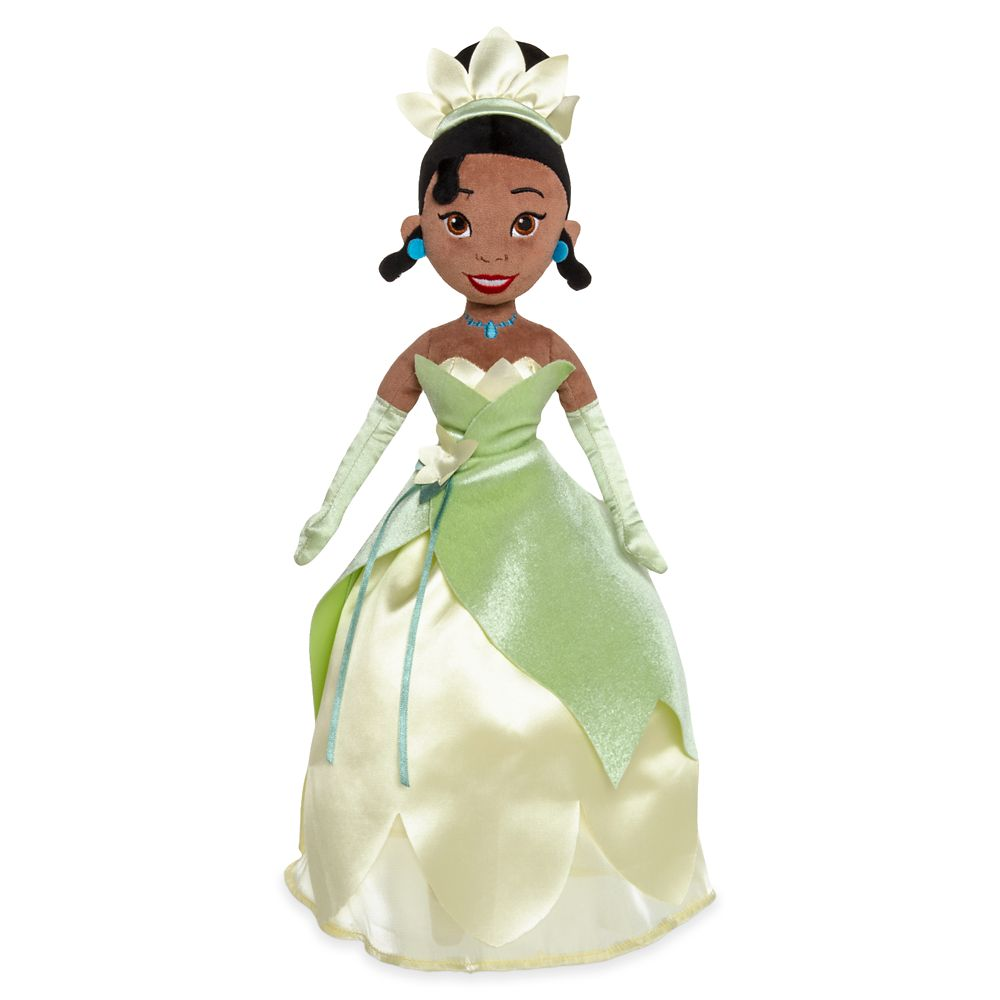 Tiana Plush Doll – The Princess and the Frog – Medium – 20''