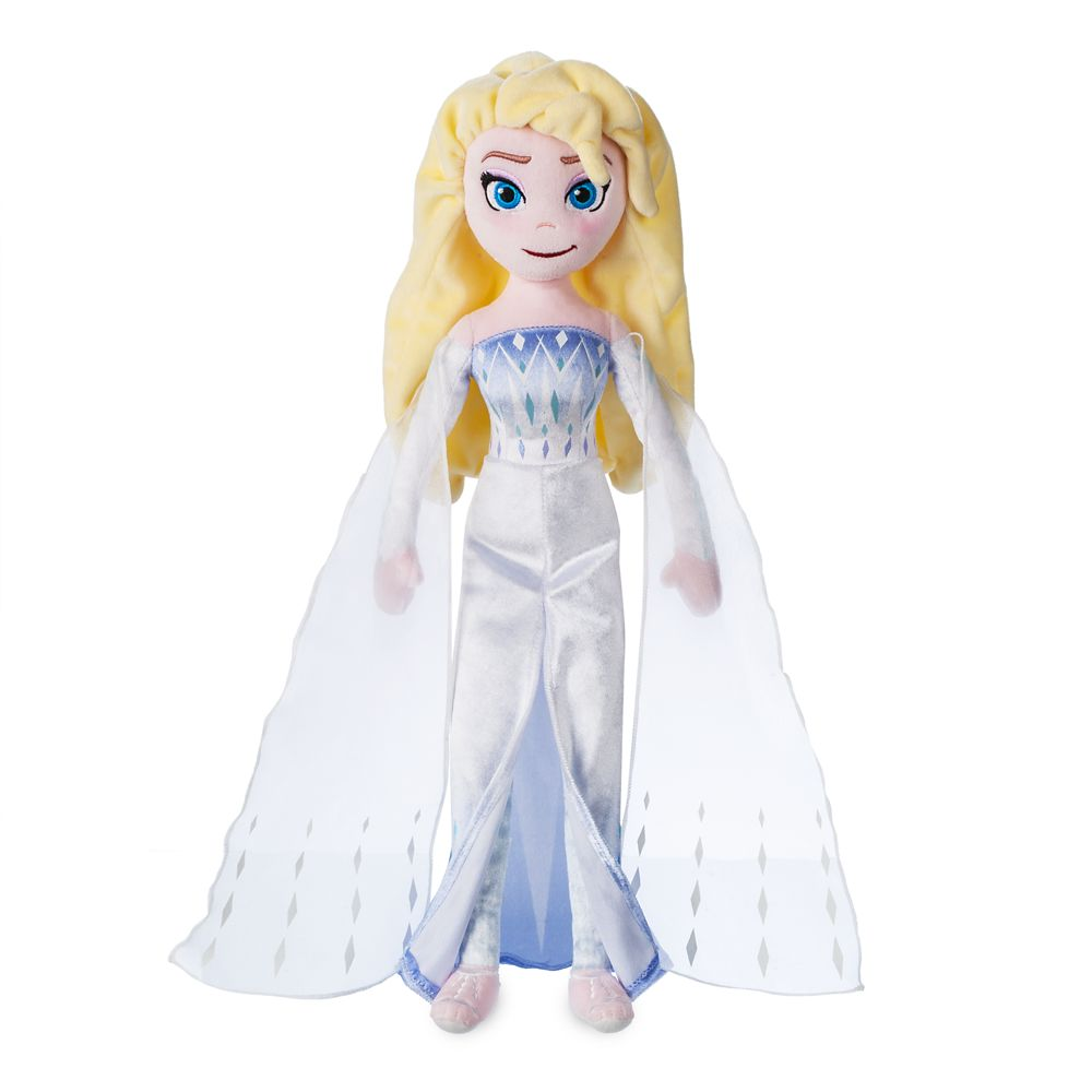 Elsa the Snow Queen Plush Doll – Frozen 2 – Medium – 18''