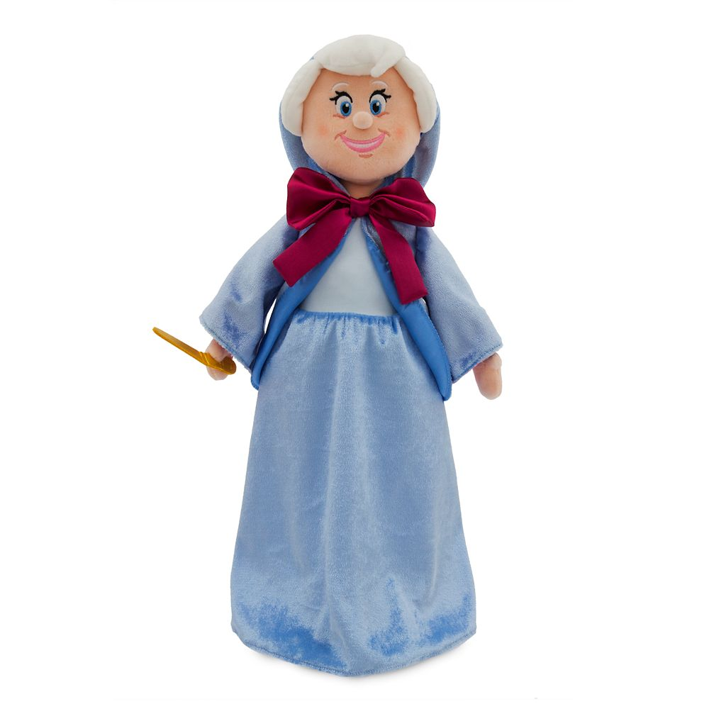 Fairy Godmother Plush Doll – Cinderella – Medium – 18''