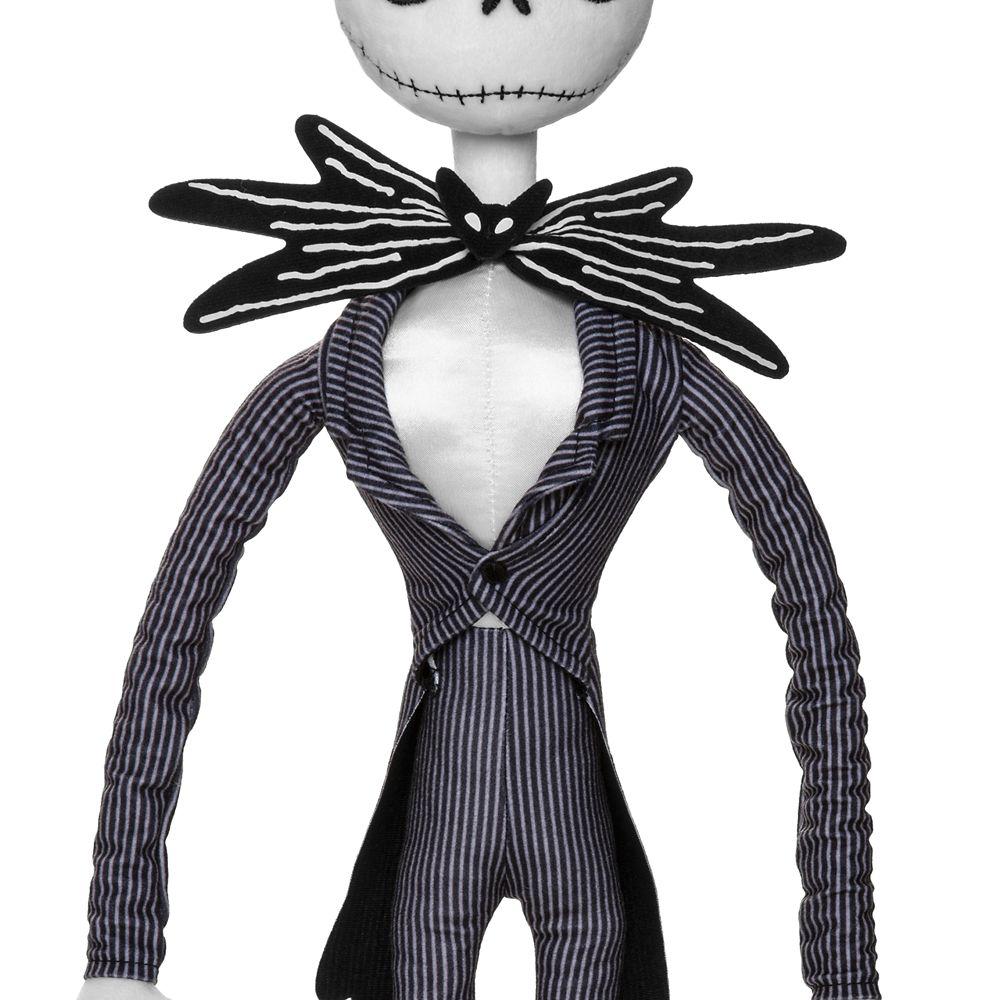 Jack Skellington Plush – Tim Burton's The Nightmare Before Christmas – Medium – 28''