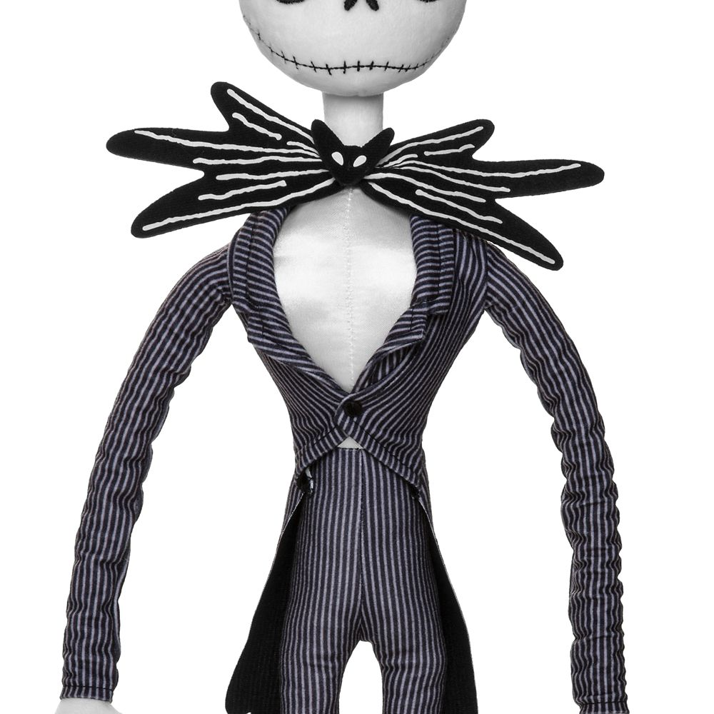 Interpretación compañero vertical  Jack Skellington Plush – Tim Burton's The Nightmare Before Christmas –  Medium 28'' | shopDisney
