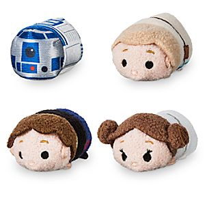 Star Wars 40th Anniversary ''Tsum Tsum'' Plush Set - Micro - 2 1/2''