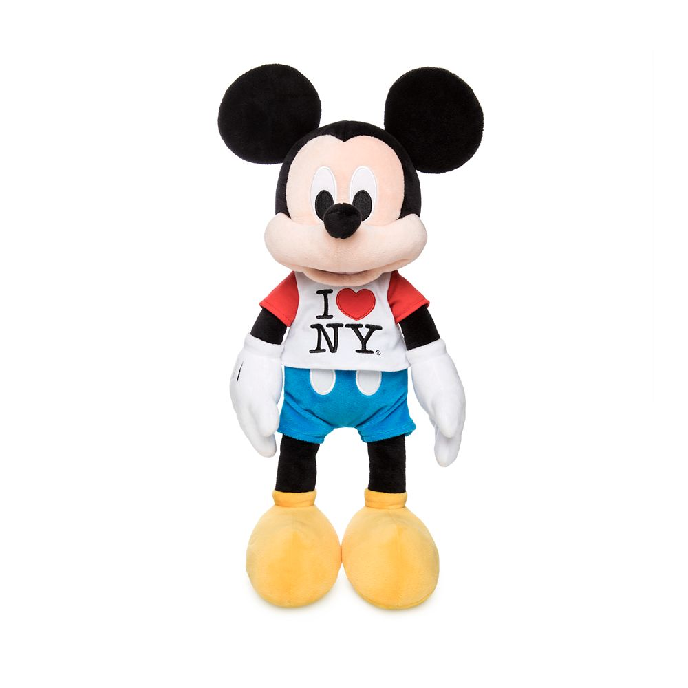 Mickey Mouse Plush – New York – Medium – 15''