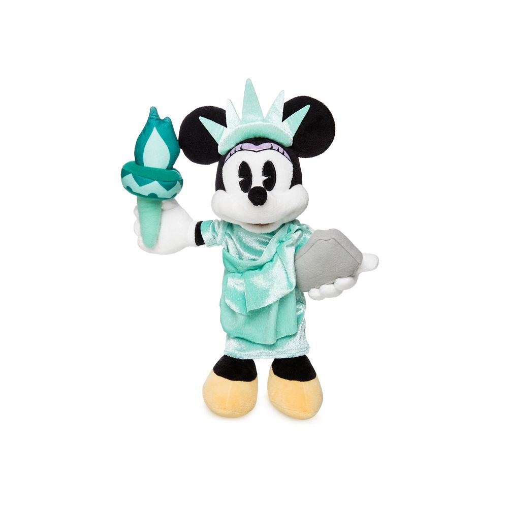 Minnie Mouse Plush - New York - Small - 12 1/2''