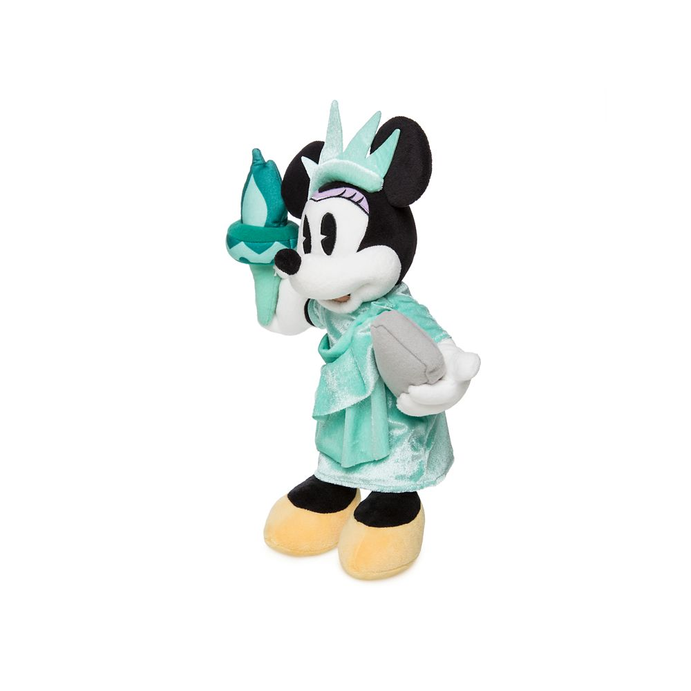 Minnie Mouse Plush – New York – Small – 12 1/2''