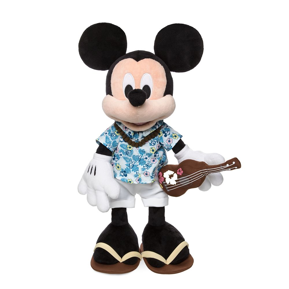 Mickey Mouse Plush – Hawaii – 13''