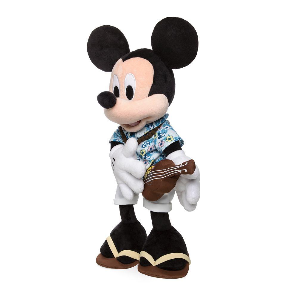 Mickey Mouse Plush – Hawaii – 13''