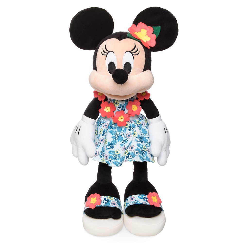 Minnie Mouse Plush – Hawaii – 18''