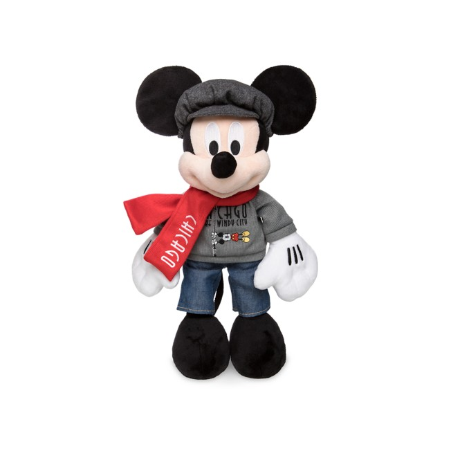 Mickey Mouse Plush – Chicago – 11 1/2''