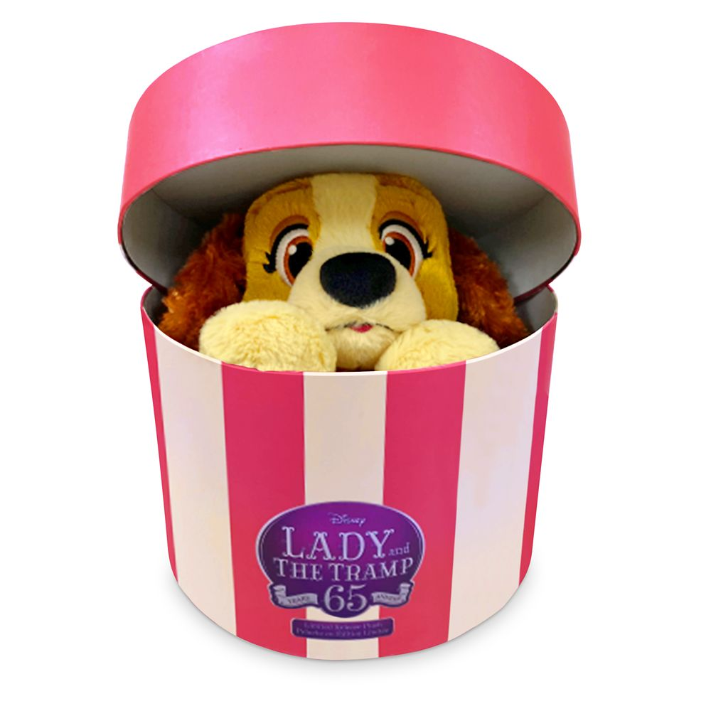 Lady Plush in Hatbox – Lady and the Tramp 65th Anniversary – Limited Release – Small – 6''