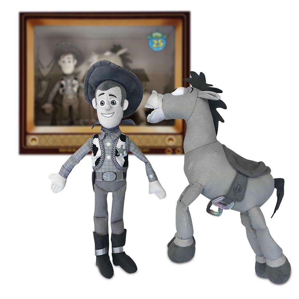 디즈니 우디 불스아이 피규어 세트 Disney Woody and Bullseye Plush Set – Toy Story 25th Anniversary – Limited Release