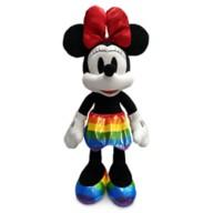 Minnie Mouse Plush – Medium 17'' – Rainbow Disney Collection