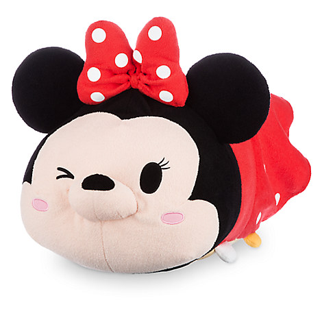 Minnie Mouse ''Tsum Tsum'' Plush - Red - Large - 19''