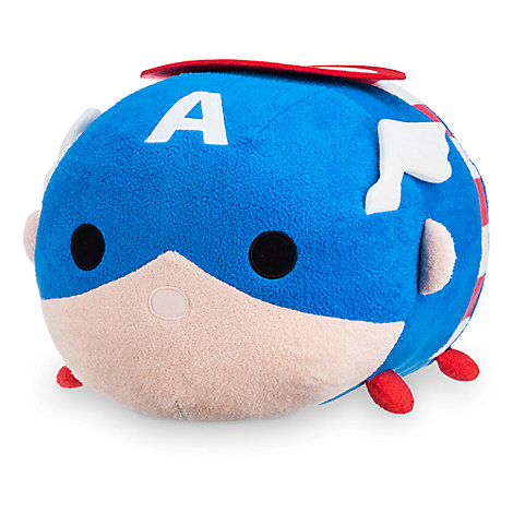 Captain America ''Tsum Tsum'' Plush - Large - 17''