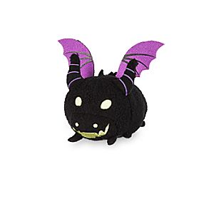 Maleficent as Dragon ''Tsum Tsum'' Plush - Sleeping Beauty - Mini - 3 1/2''