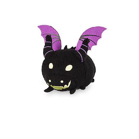 Maleficent as Dragon ''Tsum Tsum'' Plush - Sleeping Beauty - Mini - 3 1/2''