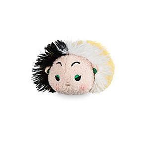 Cruella De Vil ''Tsum Tsum'' Plush - 101 Dalmatians - Mini - 3 1/2''