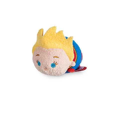 Captain Marvel ''Tsum Tsum'' Plush - Marvel's Women of Power - Mini - 3 1/2''