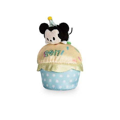 Mickey Mouse ''Tsum Tsum'' Plush - Birthday Cupcake 2017 - Mini - 4''