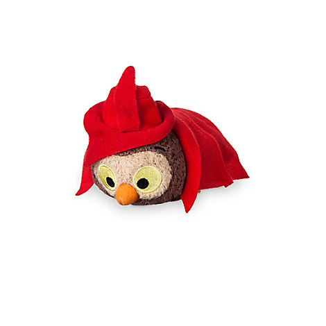 Owl ''Tsum Tsum'' Plush - Sleeping Beauty - Mini - 3 1/2''
