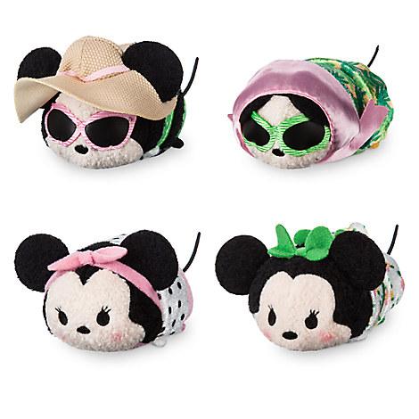 Minnie Mouse ''Tsum Tsum'' Plush Set - Mini - 3 1/2''