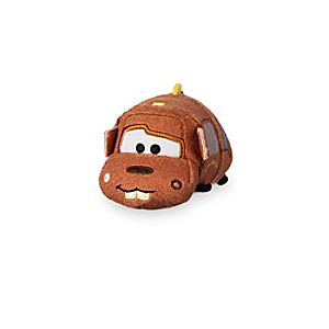Tow Mater ''Tsum Tsum'' Plush - Cars 3 - Mini - 3 1/2''