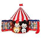 Mickey Mouse Circus ''Tsum Tsum'' Plush Set - Tent - Plus 4 Micros