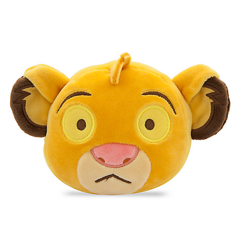 Simba Emoji Plush - Small - 4''