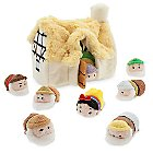 Snow White and the Seven Dwarfs ''Tsum Tsum'' Cottage Set - Micro - 2 1/2''