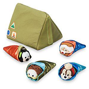 Goofy, Pluto, Chip 'n Dale Camping ''Tsum Tsum'' Set - Micro - 2 1/2''