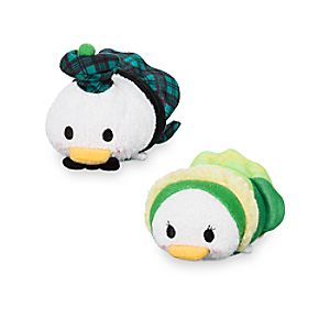 "Donald and Daisy Duck ""Tsum Tsum"" Plush Set – Mini – 3 1/2"" – Ireland"