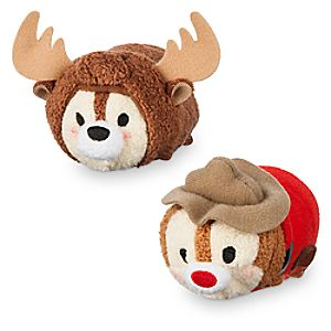 Chip 'n Dale ''Tsum Tsum'' Plush Set - Mini - 3 1/2'' - Canada