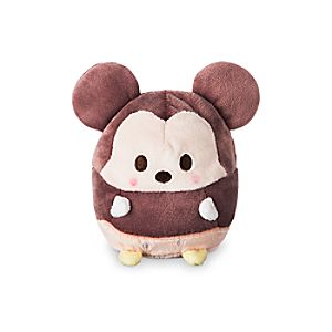 Mickey Mouse Ufufy Plush - Small - 4 1/2''