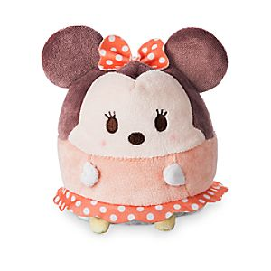 Minnie Mouse Ufufy Plush - Small - 4 1/2''