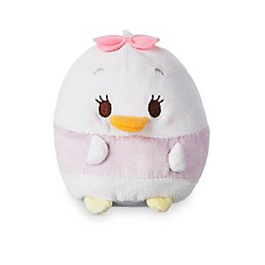 Daisy Duck Scented Ufufy Plush - Small - 4 1/2''
