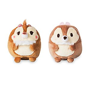 Chip 'n Dale Ufufy Plush Set - Mini 2 1/2''