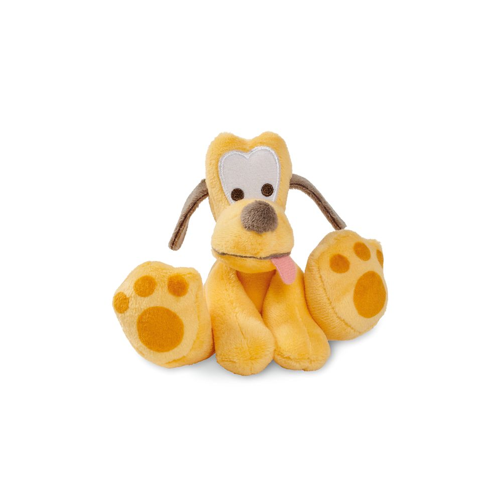 Pluto Tiny Big Feet Plush – Micro
