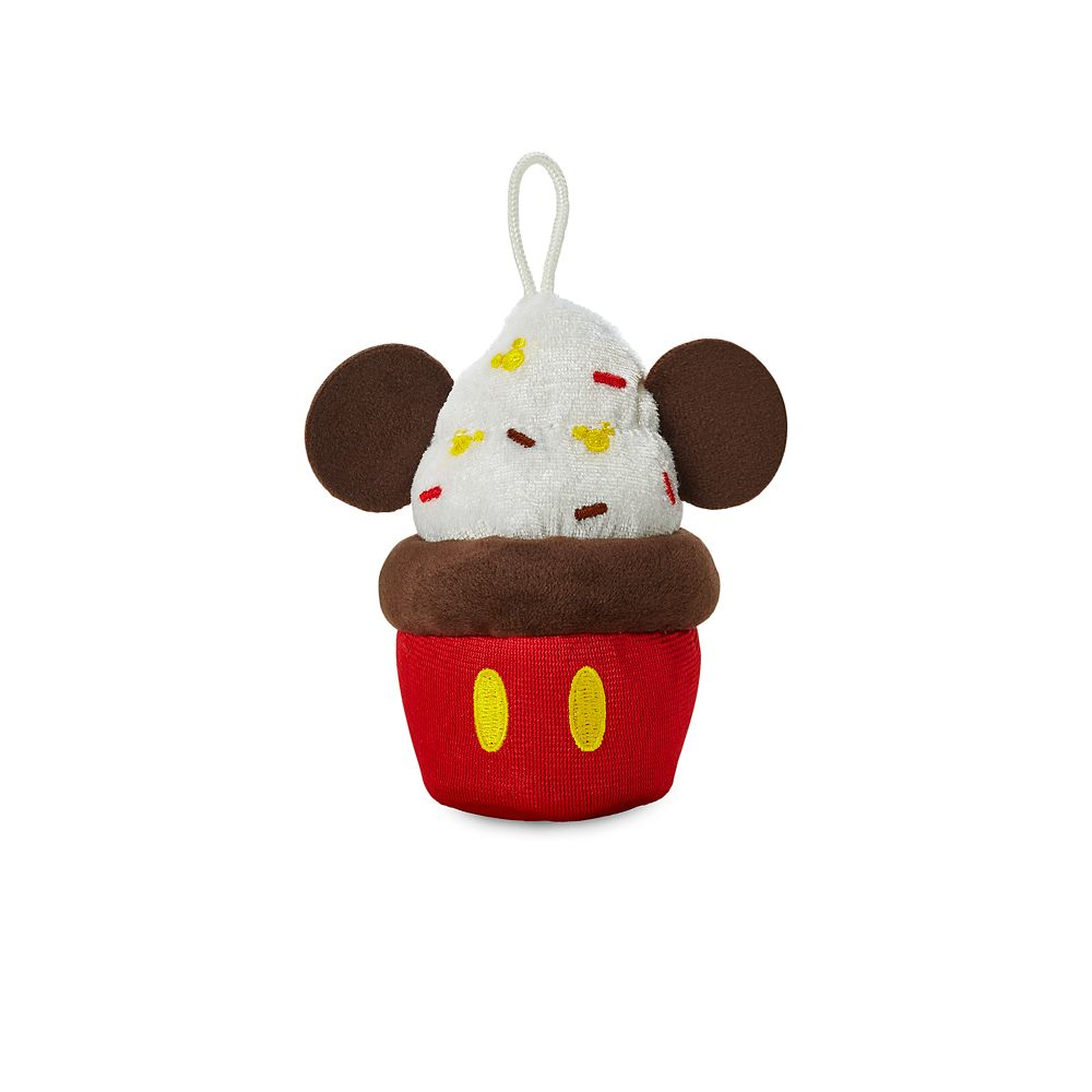 Mickey Mouse Cupcake Micro Plush