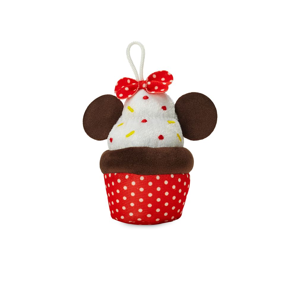 Minnie Mouse Cupcake Micro Plush