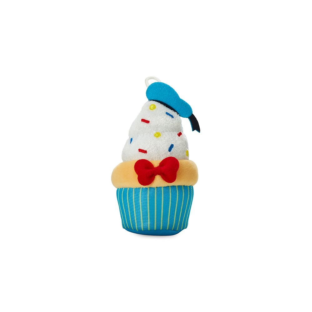 Donald Duck Cupcake Micro Plush