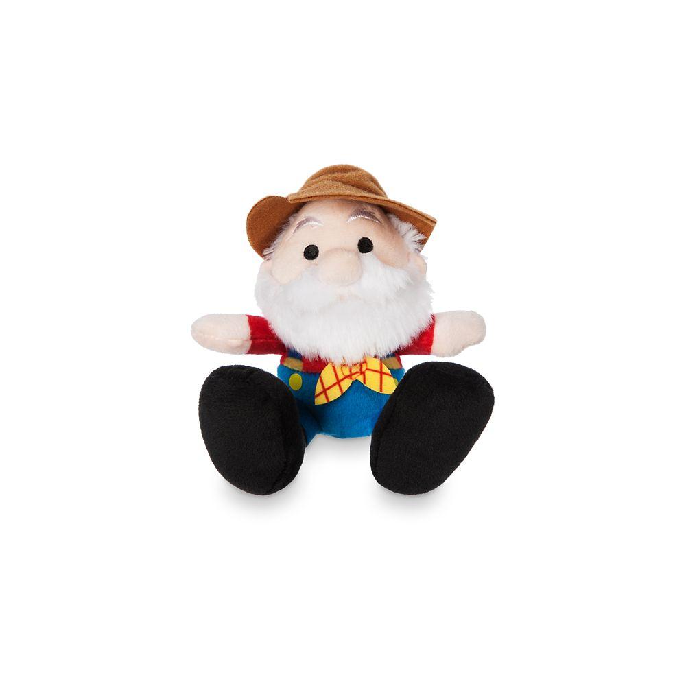 Stinky Pete Tiny Big Feet Plush – Toy Story – Micro