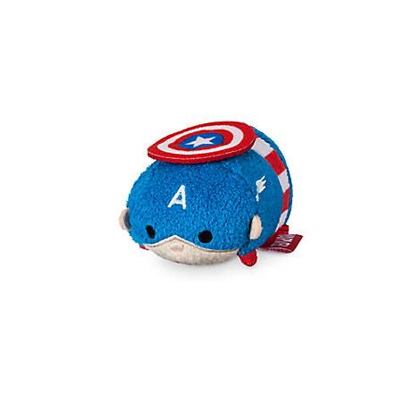 Captain America ''Tsum Tsum'' Plush - Mini - 3 1/2''